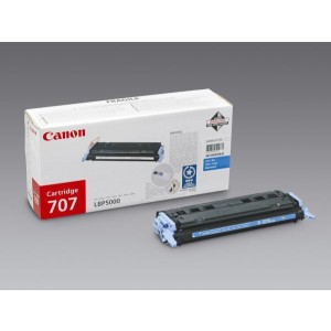 Toner Cartridge 707 cyan für LBP-5000,LBP-5100