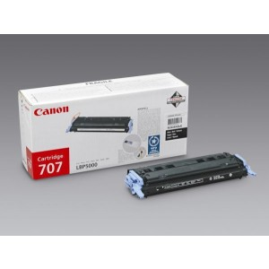 Toner Cartridge 707 schwarz für LBP-5000, LBP 5100