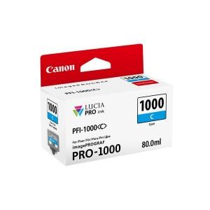 Tinte PFI-1000C für Pro-1000, cyan, Inhalt: 80 ml