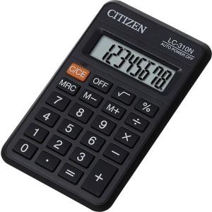 Citizen Taschenrechner LC-310 N 8 Stelliges Display, schwarz