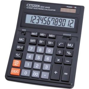 Citizen Taschenrechner SDC-444 S 12-stelliges Display, schwarz