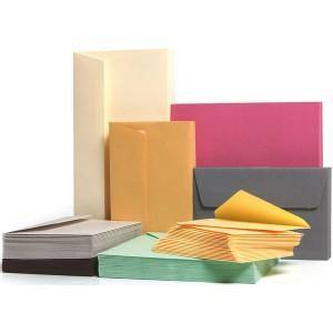Farbiger Umschlag DL 120g/qm HK Sonne 20 Stück
