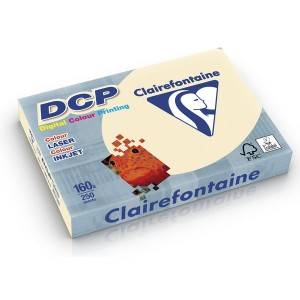 DCP Papier für Farblaser/Inkjetdruck A4, 160g, elfenbein