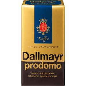 Dallmayr prodomo Kaffee 500g Packung 100 % Arabica, ganze Bohnen