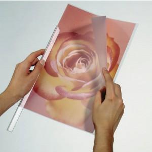 Klemmschienenhülle A4 transparent 1-100 Blatt Weichfolie 50Stück
