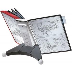 Sichttafel Tischständer 10 Tafeln Sherpa erweiterbar