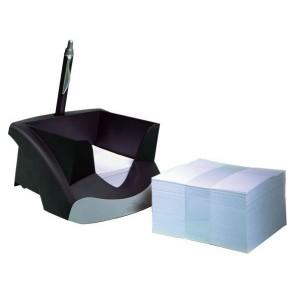 Nachfüllpack m. 500 Notizzetteln 9x9x9cm für Zettelkasten Note Box