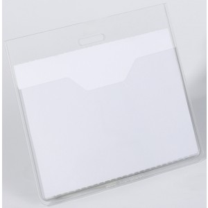 Namensschild ohne Befestigung 60x90mm, Querformat 20 Stück