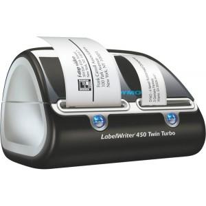 Labelwriter DYMO 450 Twin Turbo blau/graumetallic,elegantes Design