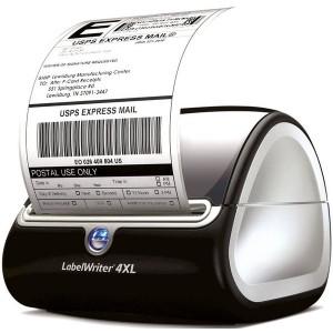 Labelwriter DYMO 4XL blau/graumetallic,elegantes Design