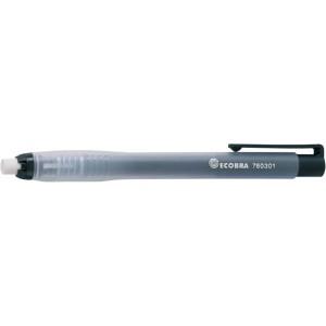 Ecobra Radierstift nachfüllbar transparent schwarz # 760301