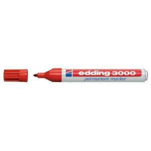Marker 3000 Rund 1,5-3mm rot nachfüllbar mit edding T 25