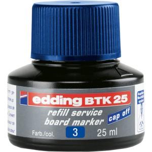 Nachfülltusche in Flasche 25ml blau blau für Boardmarker edding 28,29,