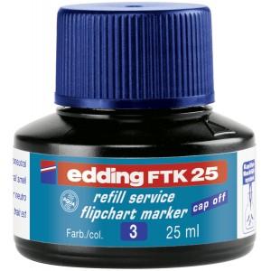 Edding Nachfülltusche 25ml blau für Flipchartmarker