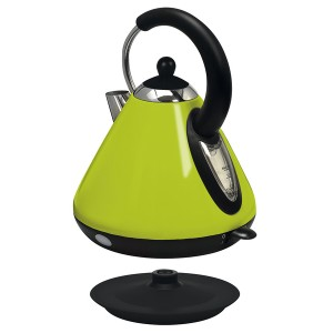 Wasserkocher Design apple green 1,7 L Fassungsvermögen, Kabeldepot,