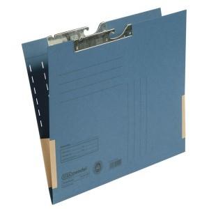 Pendeltasche A4, Dehntasche, blau, 320 g/qm, Schlitzstanzung,