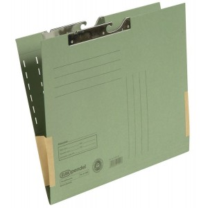 Pendeltasche A4, Dehntasche, grün, 320 g/qm, Schlitzstanzung,