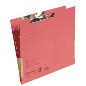 Pendeltasche A4, Dehntasche, rot, 320 g/qm, Schlitzstanzung,