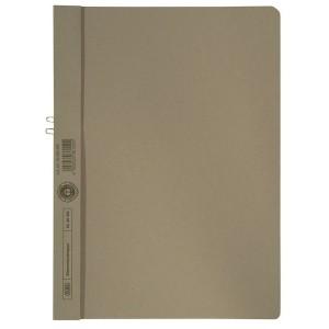 Klemmappen Manilakarton 250g/qm, A4, grau, für 10 Blatt