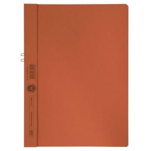 Klemmappen Manilakarton 250g/qm, A4, orange, für 10 Blatt