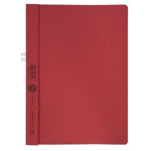 Klemmappen Manilakarton 250g/qm, A4, rot, für 10 Blatt