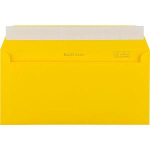 Briefumschlag C5/6 DL mit Fenster HK goldgelb 100g 229x114mm