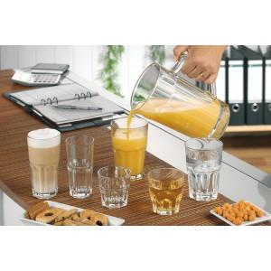 12er Set Wasserglas GRANITY 0,2 Liter, Stapelbar