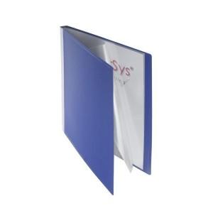 Sichtbuch, 20 Hüllen blau 310 x 240 x 18 mm (HxBxT)