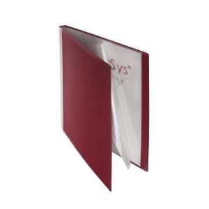 Sichtbuch, 20 Hüllen bordeauxrot 310 x 240 x 18 mm (HxBxT)