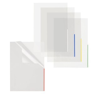 Index Sichthülle, PP, A4, trans- parent, Indexstreifen weiß, oben