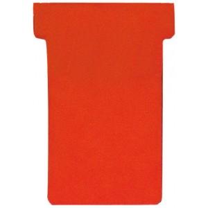 Einsteckkarten, 84x48mm, rot 170 g/qm, Größe 2