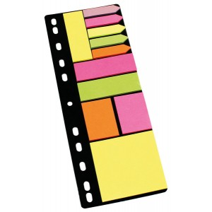 Info Sticky Notes Folder Set Haftnotizen, Haftmarker und Pfeile
