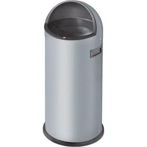 Hailo Großraum-Abfallbox Quick, 50 Liter, silber