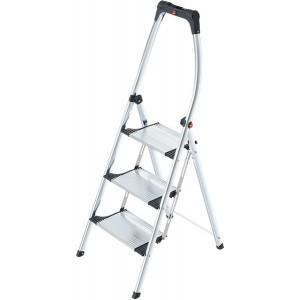 Hailo Komfort-Klapptritt 3 Stufen # 4302301 mit hochgeschwungenen