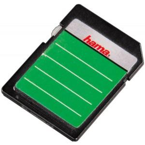 Speicherkarten-Etiketten SD/MMC 18er sk, farbig sortiert