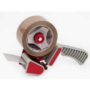 Handabroller für 66m x 50mm mit Metallmesser