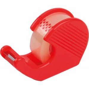 Handabroller mit 1 Rolle 33mx18mm