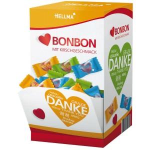 Herz-Bonbon mit Danke-Aufdruck 200 Stück