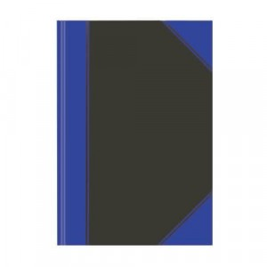 Kladde, A4, liniert, 100 Blatt, blau, 60 g/qm, fester Einband