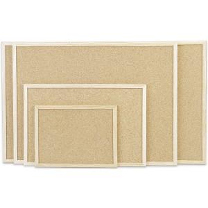 Kork Pinntafel mit Holzrahmen Abmeßung: 1000x600mm
