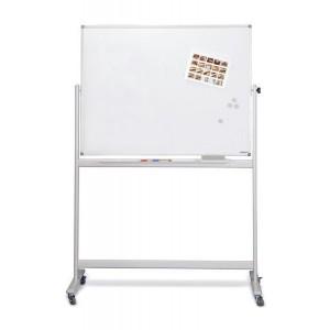 Mobiles Whiteboard SP, lackiert 1500 x 1000mm, Alurahmen