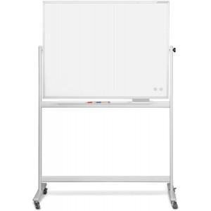Mobiles Whiteboard CC, emalliert 1500 x 1000mm, Alurahmen