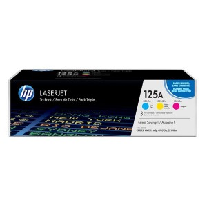 Toner Cartridge 125A farbig für Color LaserJet CP1215, CP1515