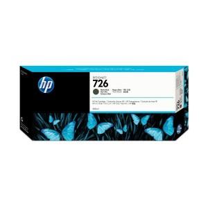 Tintenpatrone 726 schwarz matt für Designjet T1200, T1200 HD