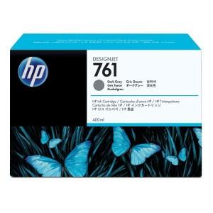 Tintenpatrone 761 dunkelgrau für HP Designjet T7100, T7200