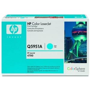 Toner Cartridge 643A cyan für Color LaserJet 4700, 4700N, 4700DN,