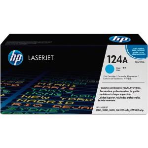 Toner Cartridge 124A cyan für Color LaserJet 1600, 2600n, 2605,