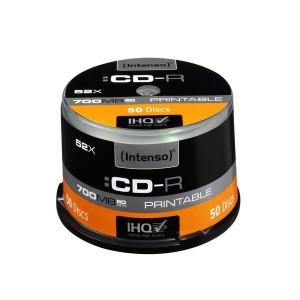 CD-Rohling CD-R 80 Min. 700MB, 52x, 50-er Spindel, bedruckbar
