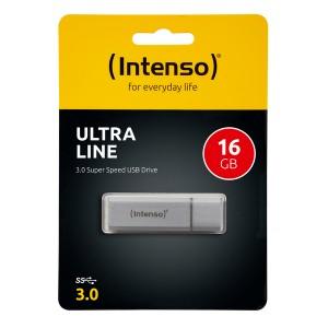 Speicherstick Ultra Line USB 3.0, silber, Kapazität 16 GB