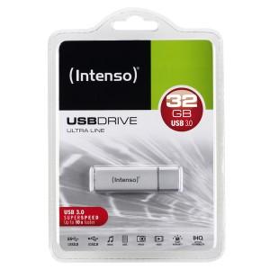 Speicherstick Ultra Line USB 3.0, silber, Kapazität 32 GB